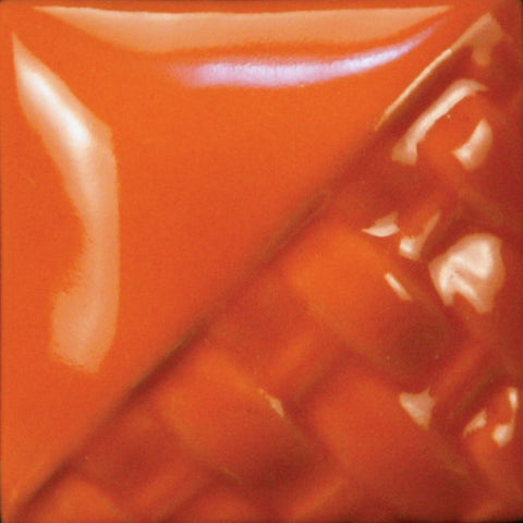 Mayco SW503 SD503 Orange Gloss Stoneware Glaze