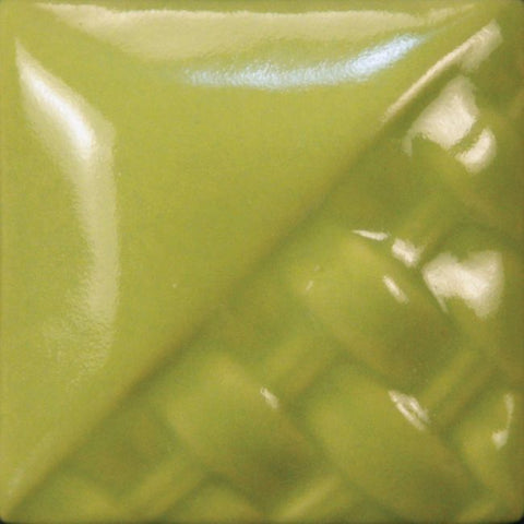 Mayco SW507 SD507 Bright Green Gloss Stoneware Glaze