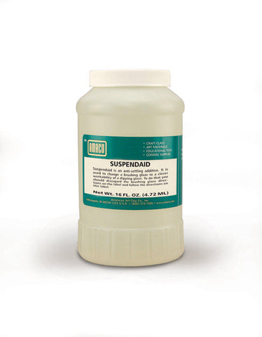 Amaco SuspendAid Glaze Additive, Pint