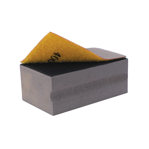 DiamondCore Velcro-backed Diamond Grit Removable Flexible Sanding Pad
