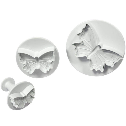 Butterfly Plunger Cutters, 3 pc