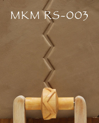 MKM Tools RS-003 1.5 cm Single Zig Zag Design