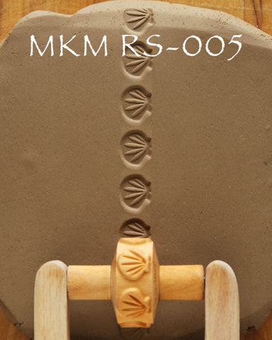 MKM Tools RS005 1.5 cm Sea Shells Design