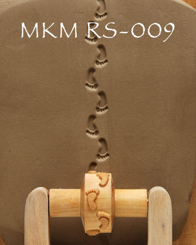 MKM Tools RS009 1.5 cm Foot Prints Design
