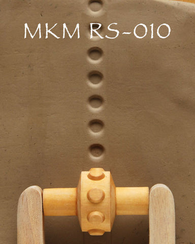 MKM Tools RS-010 1.5 cm Embossed Dots Design