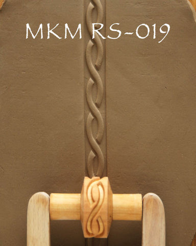 MKM Tools RS019 1.5 cm Twining Strands Design