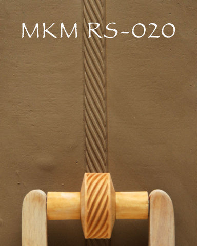 MKM Tools RS020 1.5 cm Narrow Rope Twining Design