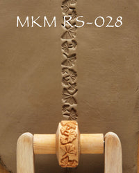 MKM Tools RS028 1.5 cm Gingko Leaf Design