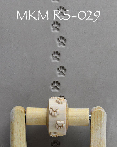RS-029 1.5 cm Small Dog Footprints Design
