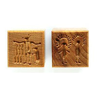 MKM Tools Ssm085 Medium Square Stamp - Hieroglyphs