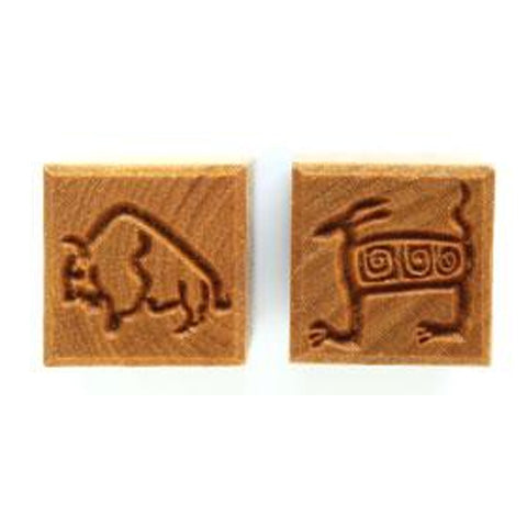 MKM Tools Ssm086 Medium Square Stamp - Bison