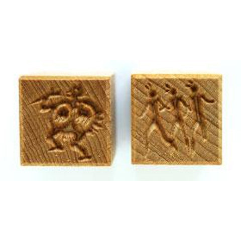 MKM Tools Ssm087 Medium Square Stamp - Hieroglyphs