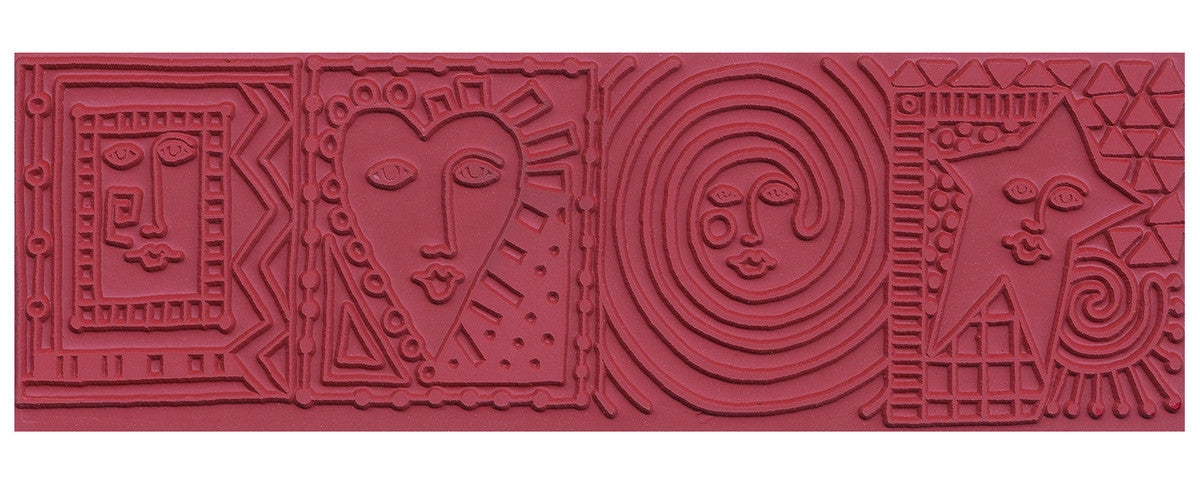 Mayco ST373 Cube Faces Rubber Stamp - Sounding Stone