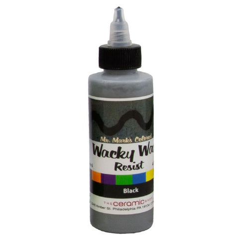 Wacky Wax Resist Black, 4 oz