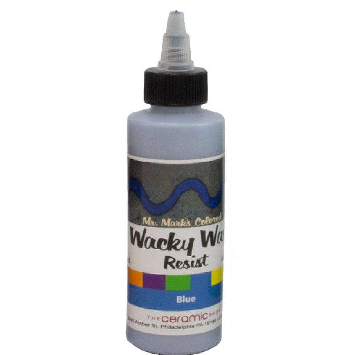 Wacky Wax Resist Blue, 4 oz