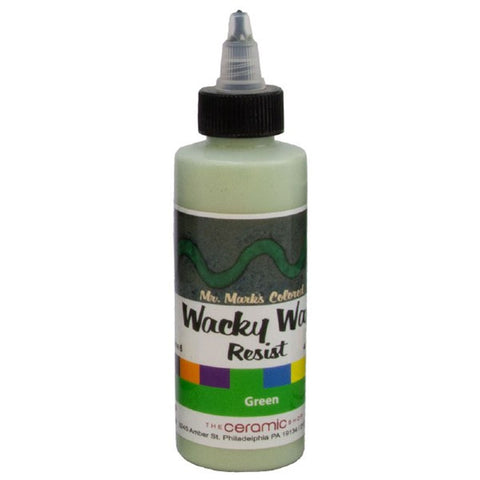 Wacky Wax Resist Green, 4 oz
