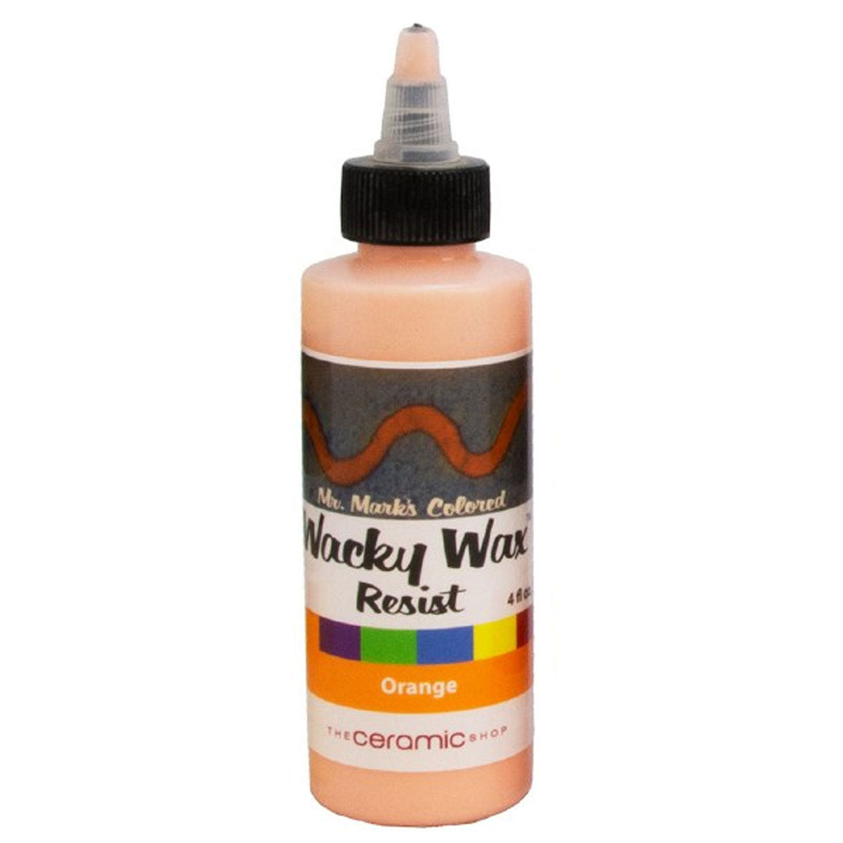 Wacky Wax Resist Orange, 4 oz