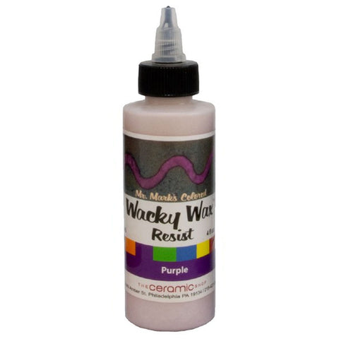Wacky Wax Resist Purple, 4 oz