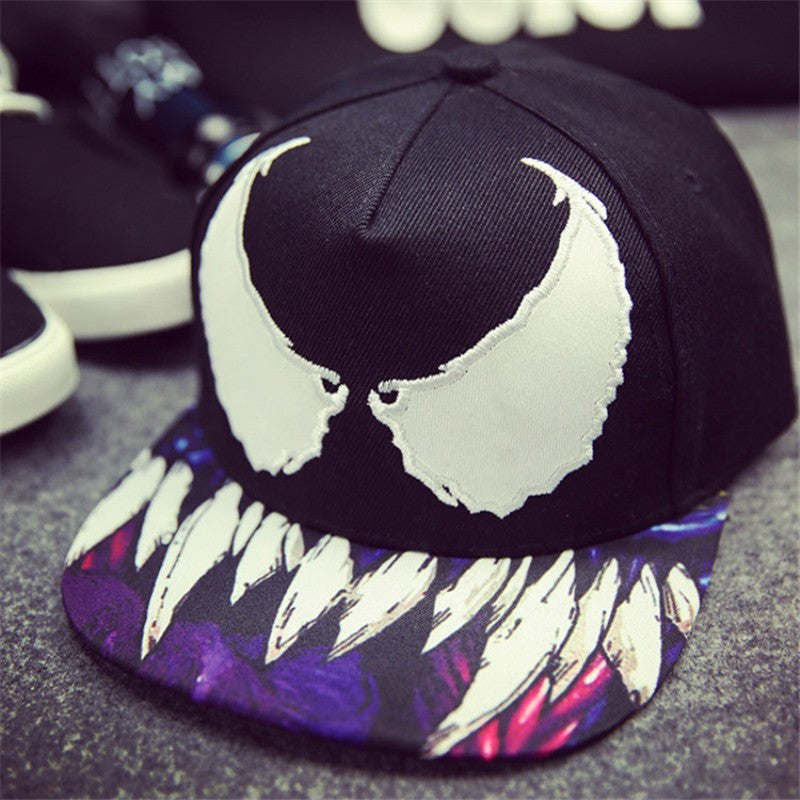 Devil Wings Embroidery Hat
