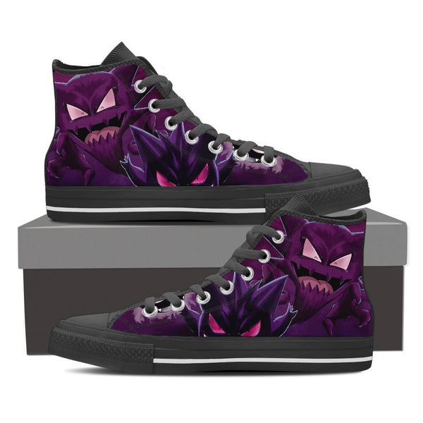 Pokemon Gengar High Top Canvas Shoe