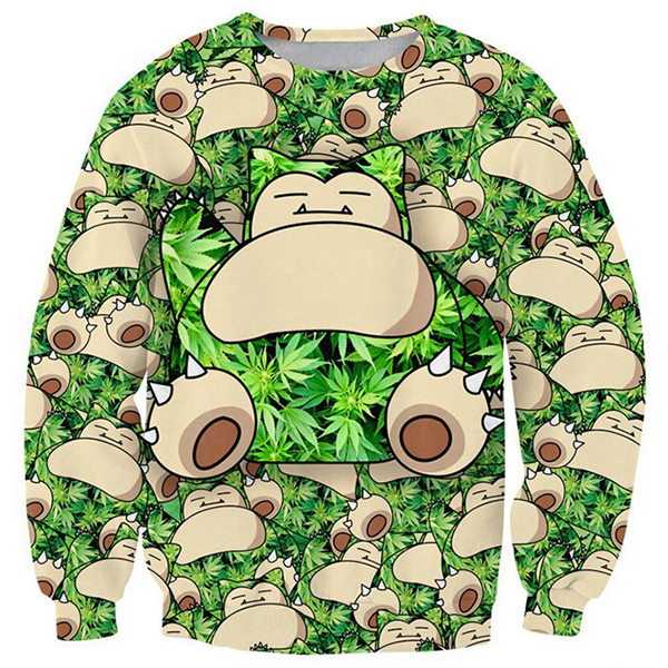 Snorlax Sleep 3D Shirts