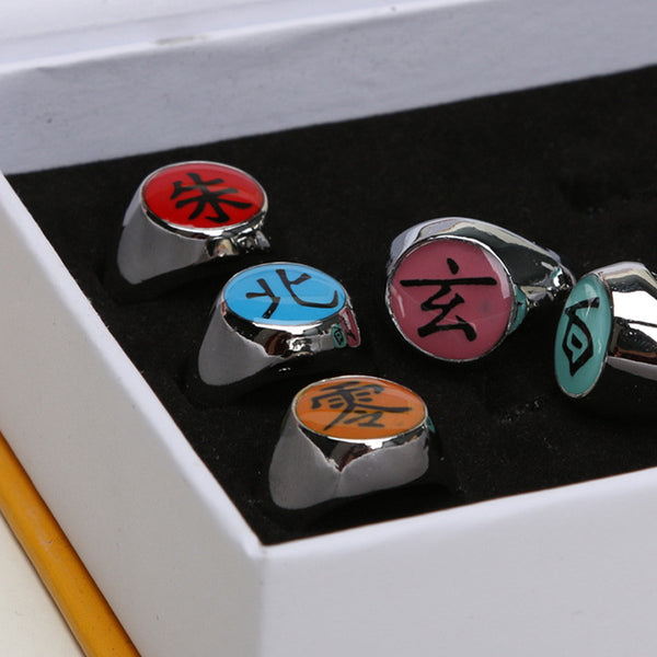 Akatsuki Member Ring Toy