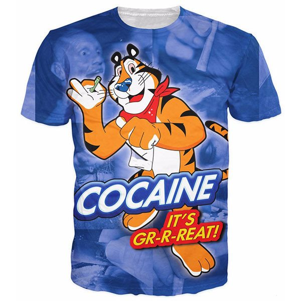 Tony the Cocaine Tiger Shirts