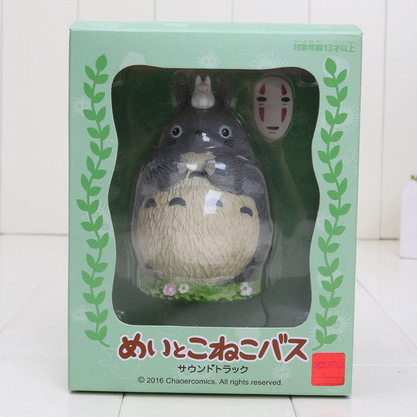 Movie My Neighbor Totoro With Mask No Face PVC Toy
