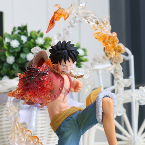 One Piece Action Figure Luffy Fighting Film Ver PVC Toy