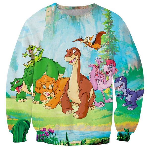 Land Before Time Printed Shirts