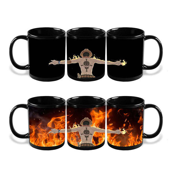Heat Color Changing One Piece ACE Mugs