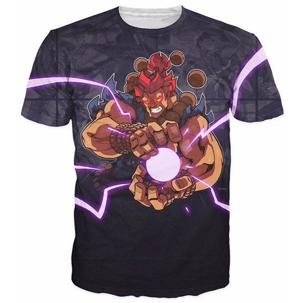 Akuma Street Fighter Shirts