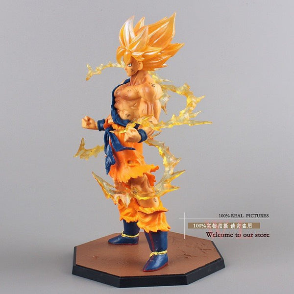 Super Saiyan Goku Figure 3D Toy