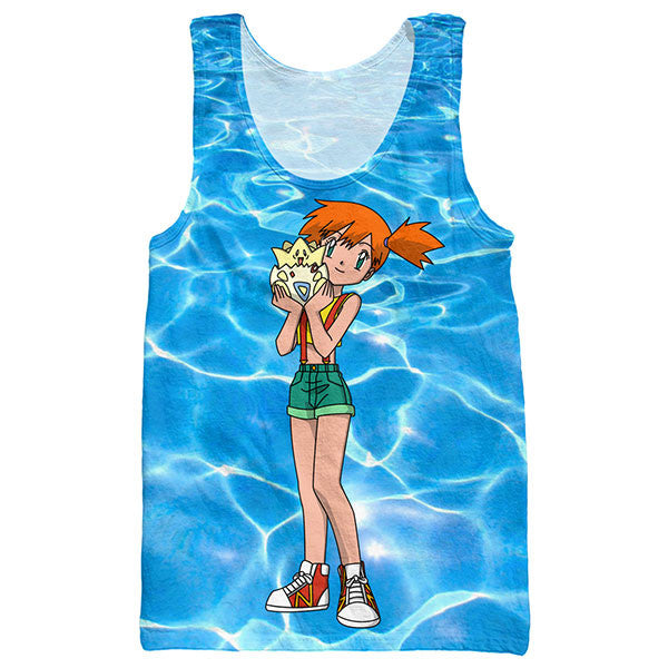 Misty And Togepi Tank Top Shirts