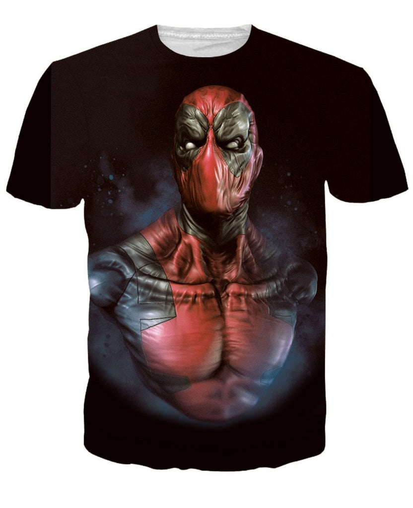Deadpool Fantasy 3D Printed Shirts