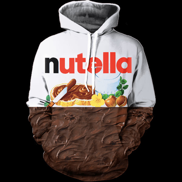 Nutella Chocolates Printed Shirts