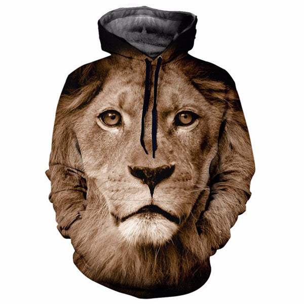 Cool Lion Face 3D Shirts