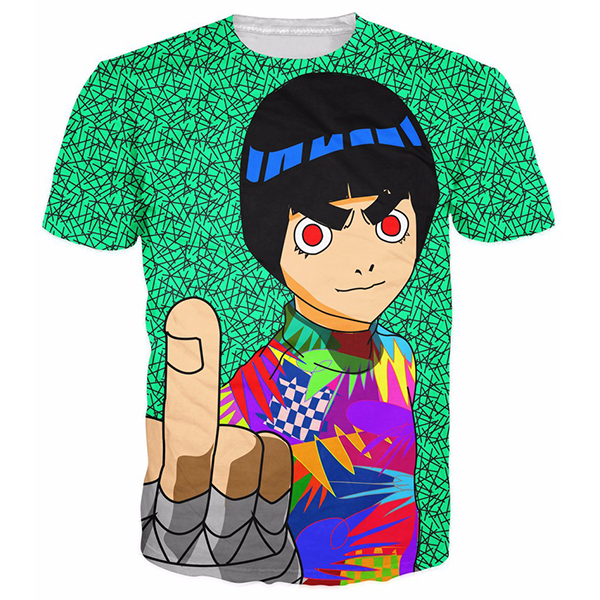 Rock Lee 3D Printed Shirts