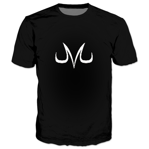 Majin Vegeta Black & White Shirts