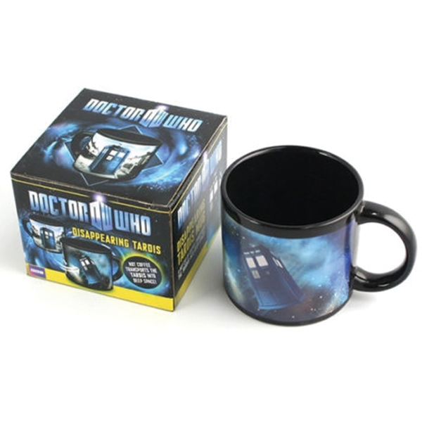 Doctor Who Color Changing Mugs