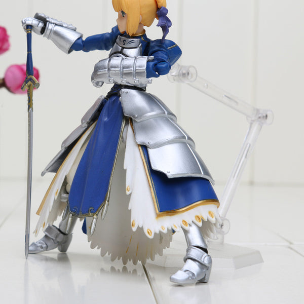 Anime Fate Stay Night Saber Figma 227 PVC Toy