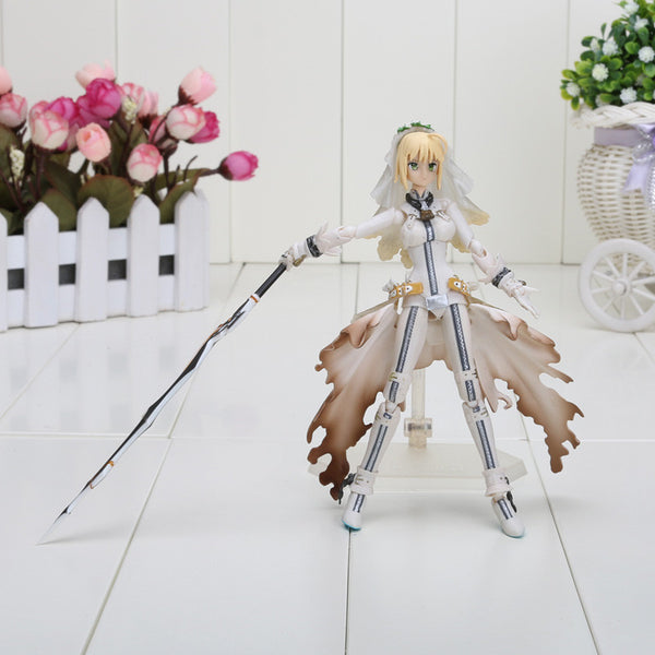 Figma SP-009 Fate Stay Night Saber Lily PVC Toy