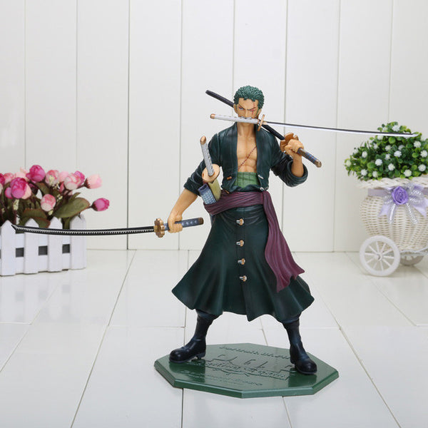 Anime One Piece POP Roronoa Zoro PVC Toy