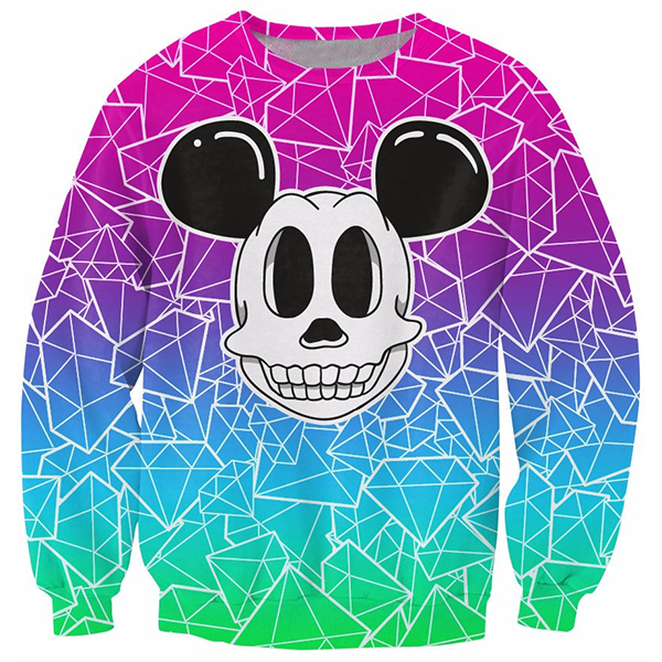 Skull Mouse Diamond Shirts