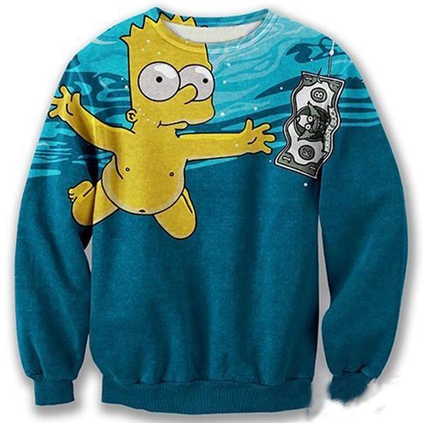 Bart Simpsons Swim To The Money Shirts