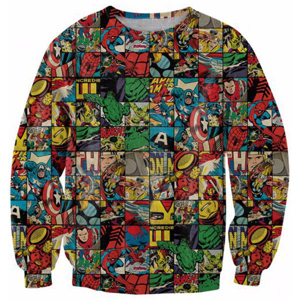 The Avengers Karo Printed Shirts