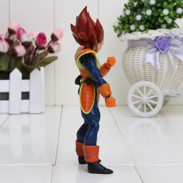 Dragon Ball Z S H Figuart orange Hair Scouter Vegeta SHF PVC Toy