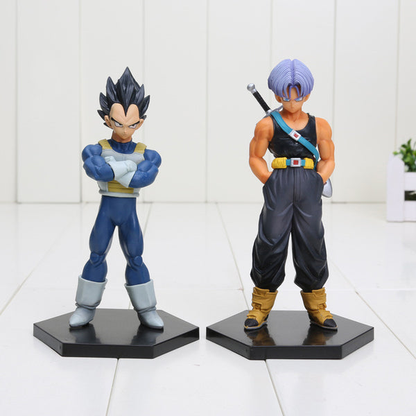 Dragon Ball Z Trunks Vegeta Father and Son PVC Toy