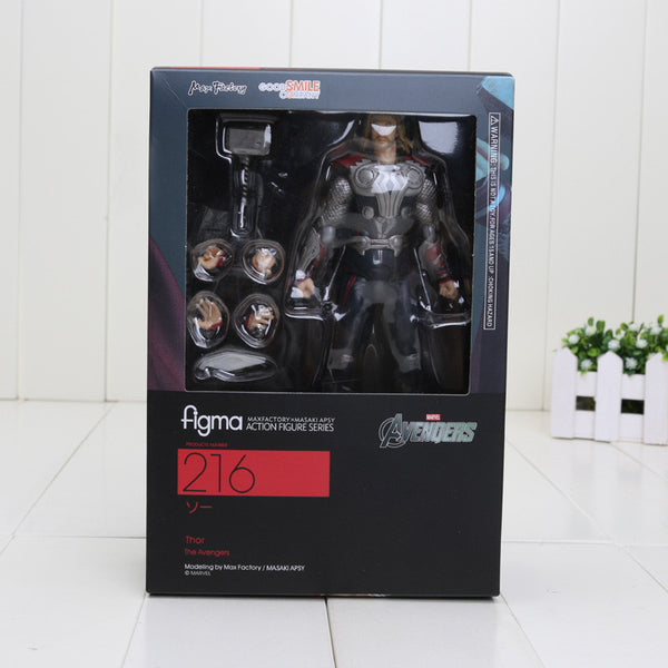 Super Hero The Avengers Thor Figma 216 PVC Toy