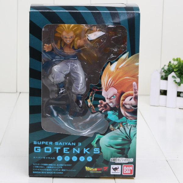 Anime Dragon Ball Z Super Saiyan Gotenks PVC Toy